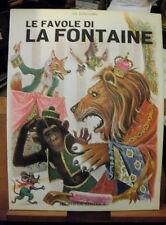 LE FAVOLE DI LA FONTAINE versione di Bindi Senesi/Europea Editrice/illustrato