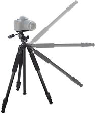 "80"" True Professional Heavy Duty Tripod & Case For Canon Vixia HF M301 G10 S30"