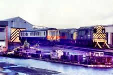 PHOTO  1982 EASTFIELD DEPOT GLASGOW IN SINGLE CAR DIESEL MULTIPLE UNIT NO SC5501