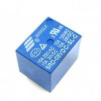 2/5/10 Pcs Mini Power Relay 5V DC SRD-5VDC-SL-C SRD-5VDC-SL-C PCB C3D4
