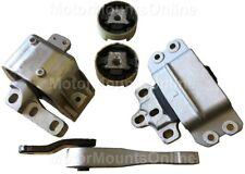 9R3906 5pc Motor Mounts fit 2.0L TURBO engine 2007 - 2013 Volkswagen Eos A/T M/T