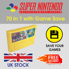 SNES Games - 70 in 1 - PAL - Super Nintendo Multi Game Cart