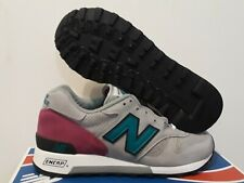 NEW BALANCE MEN'S CONNOISSEUR M1300DGR   MADE IN THE USA RUNNING SHOE SIZE: 6.5
