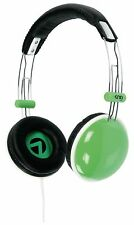 CASQUE AUDIO HIFI DJ KNG STYLO VERT COMPATIBLE TELEPHONE SMARTPHONE 110dB KNG509