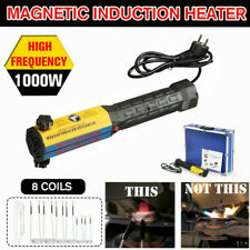 110V Magnetic Induction Heater Automotive Flameless Heat Mini Ductor with 8 Coil