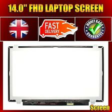 """COMPATIBLE BOEHYDIS NV140FHM-N46 14.0"""" FHD LED DISPLAY LCD SCREEN PANEL 30 Pins"""
