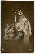 CARTE PHOTO SAINT NICOLAS ENFANTS CHILDREN CHILD