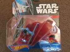 Hot Wheels Star Wars Tie Fighter Die cast ship NEW
