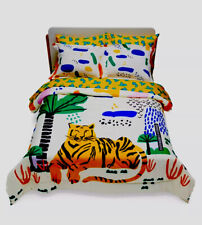 Jungle Tiger 7-pc TwinXL Bedding Set by Drew Barrymore Flower Kids Microfiber