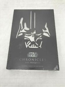 EW Star Wars Chronicles Prequels Hardcover Slipcase Sansweet Hidalgo Sealed