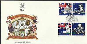 AUSTRALIA 1988 BI-Centenary CRICKET SHAKESPEARE GRACE MCC 150th PICTORIAL FDC