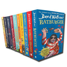 David Walliams Collection 10 Books Set Demon Dentist, Billionaire Boy  ...