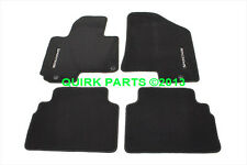OEM NEW Carpet Floor Mats 4-Piece Set Black 2010-2014 Kia Sportage 3WF14-AC300WK