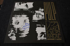 """PULP Jarvis Cocker signed Autogramm """"DOGS ARE EVERYWHERE"""" Vinyl Platte InPerson"""