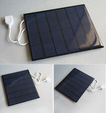 6V 3.5W 580-600MA Solar Panel Battery USB Charger For Mobile Phone new