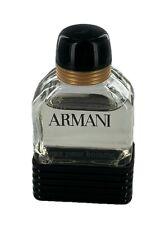 Armani Eau Pour Homme for Men 0.16 oz / 5 ml From 80's Collectible Miniature