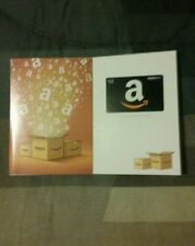$20 Amazon Gift Card and Amazon Boxes Greeting Card (Free Shipping)