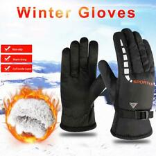 Windproof Warm Winter Gloves Unisex Bicycle Ski Warm Motorcycle Driving Gloves