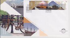 FDC E648 BEZOEK AMSTERDAM uit 2012 BLANCO + OPEN KLEP