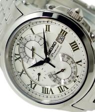 Reloj con Cronógrafo Para Hombre Seiko Premier SPC065P1, Garantía, Caja
