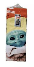 "Star Wars The Mandalorian Baby Yoda The Child 28"" x 58""  Beach Towel NWT In Hand"