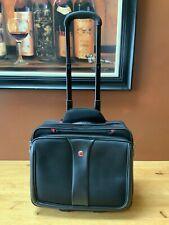 SwissGear Wenger Patriot Wheeled Rolling Computer Travel Bag Comp-U-Roller Black