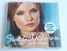Sinead Quinn I Can't Break Down CD Single 2003 Brand New