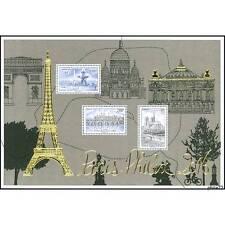 Bloc timbre doré du salon Paris-Philex 2016 NEUF