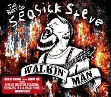 Walkin' Man The Best of Seasick Steve Blues Folk Deluxe Edition CD DVD Set
