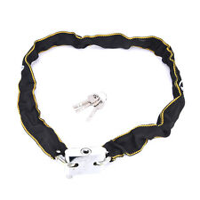 Motorbike Bicycle Cycle Cable Bike Lock Chain Security Scooter Padlock J&S