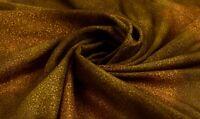 Vintage Verde Saree Puro Seda Estampado Sari Zari Borde 4.6m Craft Kimono Tela