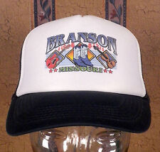 vtg 80s Snapback Trucker Hat cap Branson Missouri retro punk Indie