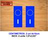 MATRICULA ITALY UE UNION EUROPEA VINILO PEGATINA VINYL STICKER DECAL AUFKLEBER