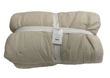 Pottery Barn Soft Cotton Handcrafted Quilt King/California King Natural NEW $249
