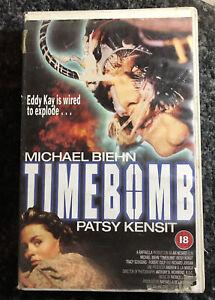Timebomb Patsy Kensit Michael Biehn RARE BIG CASE VHS Video Ex Rental