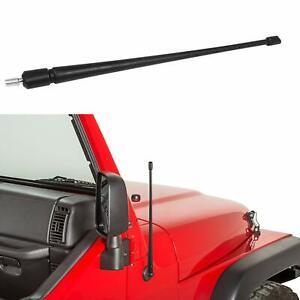 13 inches Antenna for Jeep Wrangler JK JKU JL JLU 2007-2018 Flexible Rubber