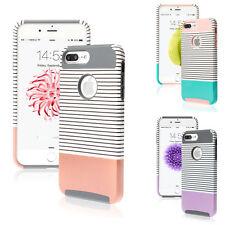 iPhone 7 / 7 Plus Case Slim Shockproof Hybrid Hard Bumper Rubber Cover For Apple