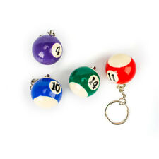 Creative 25 MM Billiard Snooker Table Ball Pendant Gifts Key Chain Key Ring