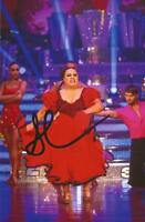 STRICTLY COME DANCING: SUSAN CALMAN SIGNED 6x4 ACTION PHOTO+COA
