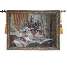 Tapestries tapestry decorative painting tarpaulin fabric soft Flowers Nostalgia