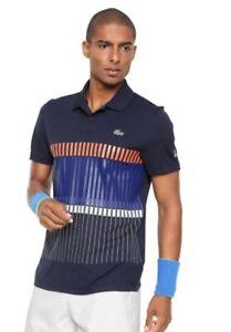 Lacoste Sport Novak Djokovic Exclusive Clay Edition Polo Shirt Ultra Dry SS XL