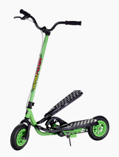 New Zike Z100 Wing Flyer Stepper Scooter-(Lime Green)