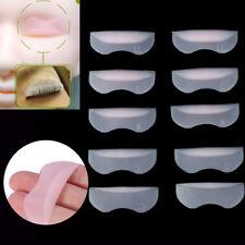 Eyelash Perming Lift Silicone Lash Pads Eye Shield Guards 5 Prs: SS,S,M,L,XL