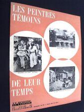 PEINTRES TEMOINS DE LEUR TEMPS (LES) - PHOTOCOPIE COUV. MAGAZINE LE PEINTRE 1974