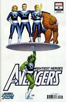 AVENGERS #6 CASSADAY RETURN OF FANTASTIC FOUR  - MARVEL COMICS - US-COMIC - G236
