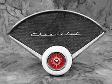 55-56 Chevy Car Billet Aluminum Insert w/ Classic Instruments Red Steelie