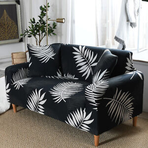 Pet Protector 2 3 4-Seater Sofa Covers Waterproof High Stretch Floral Slipcover