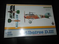 Albatros D.III 1:48 scale Eduard Model Kit 8436