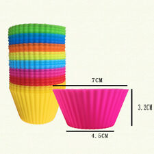 Mini Cup Cake Pan Mold Muffin Cupcake Form to Bake Kitchen Color Random Silicone