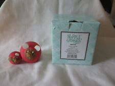 Retired Enesco Home Grown Beetroot Mouse & Baby Figurine